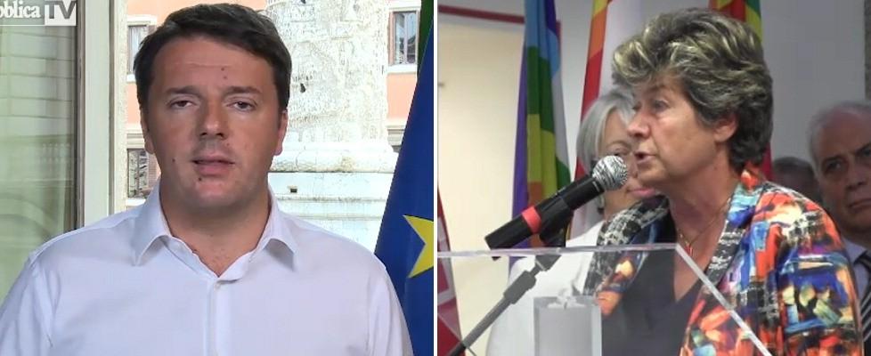 """Lavoro, scontro frontale Renzi-Cgil. Camusso: """"Hai in mente la Thatcher"""". Il premier: """"Avete difeso ideologie, non persone"""""""