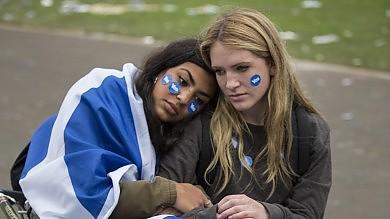 Scozia sceglie no indipendenza     foto     video       La regina: 'Uniti nel rispetto reciproco'   vd