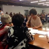"""Agnese Landini, una fist lady in fila tra i docenti precari: """"Spero in una cattedra..."""