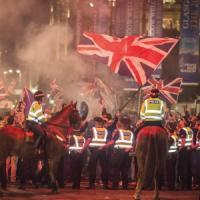 Scozia, scontri a Glasgow nella notte fra indipendentisti e unionisti