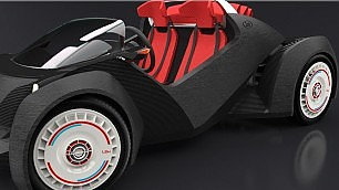 Prima auto stampata in 3D il designer è italiano