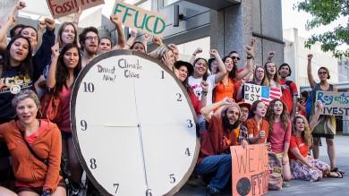 Un milione in piazza per salvare il clima