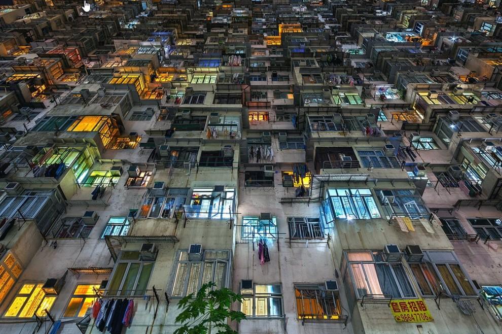 Vertigine Hong Kong, dove la densità umana è da capogiro