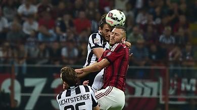 Serie A, serata  da big match Milan-Juventus  in diretta 0-0