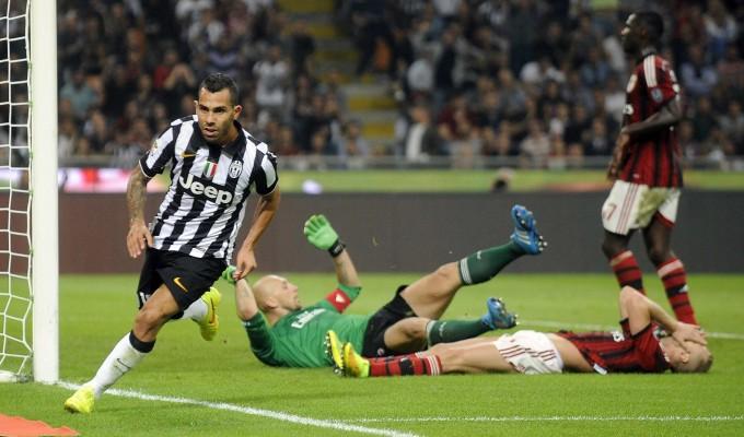 Ancora Tevez, la Juve spegne il Milan   Gol   -   foto