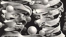 Le geometrie inquiete di Escher  in mostra a Roma
