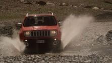 Jeep Renegade,  lo spot diventa arte
