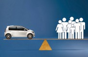 Follie del mercato: la Volkswagen si vince a peso