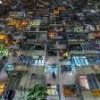 La densità umana della città è da capogiro