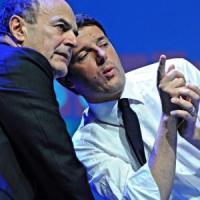 """Lavoro, Renzi alla minoranza Pd: """"Cascate male"""". Bersani: """"Ci rispetti come fa con..."""