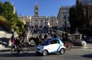 Roma, cresce la flotta car2go: 100 smart e 10 chilometri quadrati in più
