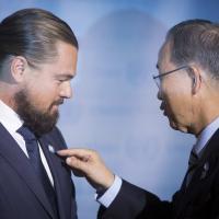 Leonardo DiCaprio testimonial Onu contro i cambiamenti climatici