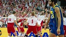 Polonia vince il titolo  dopo 40 anni Il Brasile giù dal trono