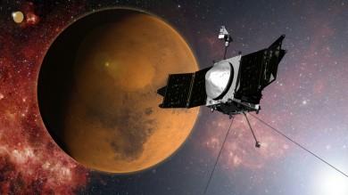 Sonda Maven è arrivata su Marte   video   Ci svelerà il passato del pianeta rosso
