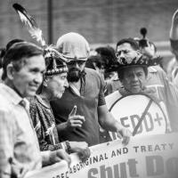 Di Caprio e il capo tribù: i volti della marcia per il clima a New York