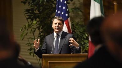 Da Twitter all'Onu, Renzi negli Usa    video    Primo incontro  con gli scienziati italiani