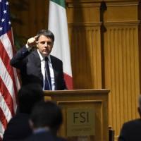 """Renzi negli Usa incontra le startup italiane: """"Serve cambiamento violento. Voi metteteci..."""