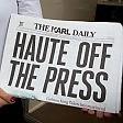 Lagerfeld, stampa fai da te fonda il giornale Karl Daily
