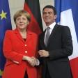Merkel: Impressionanti le riforme francesi. Valls: Berlino si fidi
