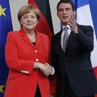 "Merkel: ""Impressionanti le riforme francesi"". Valls: ""Berlino si fidi"""