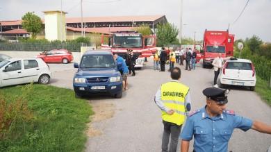 Rovigo, quattro operai morti   foto   per nube acido solforico in azienda