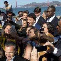 Matteo Renzi a San Francisco, la visita tra social e start-up