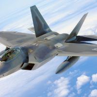 Raid Usa in Siria: l'esordio dell'F-22 Raptor