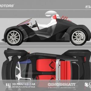 Stampa 3D, ecco la prima auto. Ci sono volute 44 ore