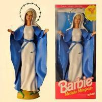"""Barbie vestita come la Madonna, la condanna dei vescovi: """"La religione non è di plastica"""""""