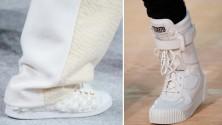 Sneaker bianche: vince il non colore