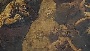 Adorazione dei magi di Leonardo dettagli emergono dal restauro