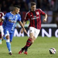 Empoli-Milan, il film della partita