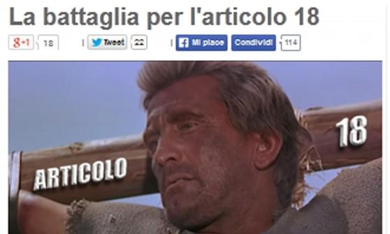 """Lavoro, Renzi: """"Riforma non rinviabile"""". Grillo a minoranza dem: """"Mandiamo a casa il premier"""""""