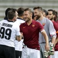 Parma-Roma, il film della partita