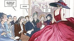 In una graphic novel i dieci anni  che rivoluzionarono la moda