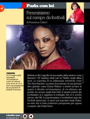 Femminismo sul campo da football