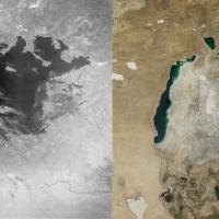 Sull'atlante c'è il lago d'Aral, ma è prosciugato