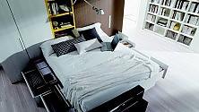 L'ufficio in camera da letto Con i mobili trasformisti