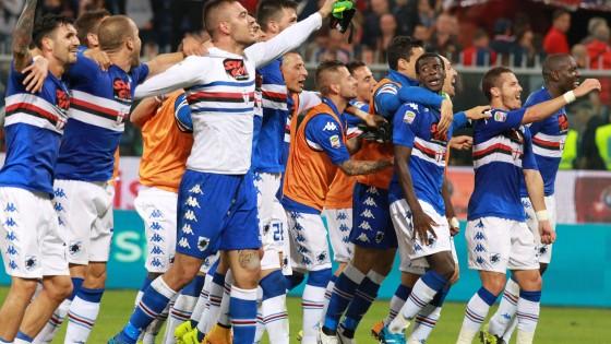 Genoa-Sampdoria 0-1: Gabbiadini abbatte il Grifone, blucerchiati al terzo posto