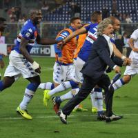 La Sampdoria vince il derby, Ferrero scatenato