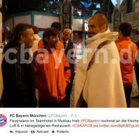 Bayern Monaco, la squadra passa una notte al gelo a Mosca