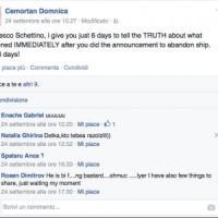 """Concordia, Domnica a Schettino: """"Racconta la verità o parlo io"""""""