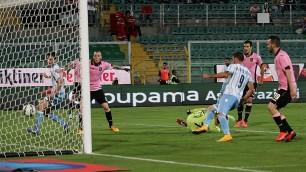Che Lazio, 4-0 a Palermo Udinese batte Parma 4-2    Foto  Totò e Cassano,  gol di classe