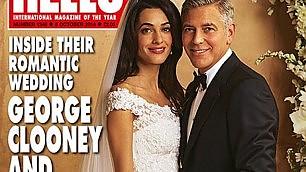 Amal e George, svelati gli abiti