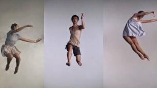 Le ballerine al rallentatore una perfezione del movimento