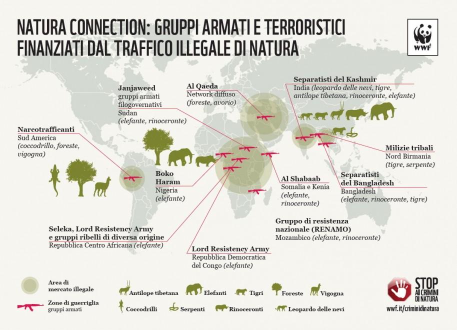 Stop ai crimini di natura, le mappe del Wwf - Repubblica.it