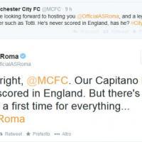 "Manchester City, ""l'infortunio"" su twitter"