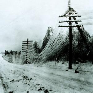 La tempesta di ghiaccio del '98 impressa nel dna