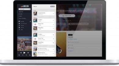 Deezer, la piattaforma francese di musica in streaming si è rifatta il look