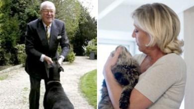 Lite nella famiglia Le Pen, il doberman  del padre sbrana il gatto di Marine